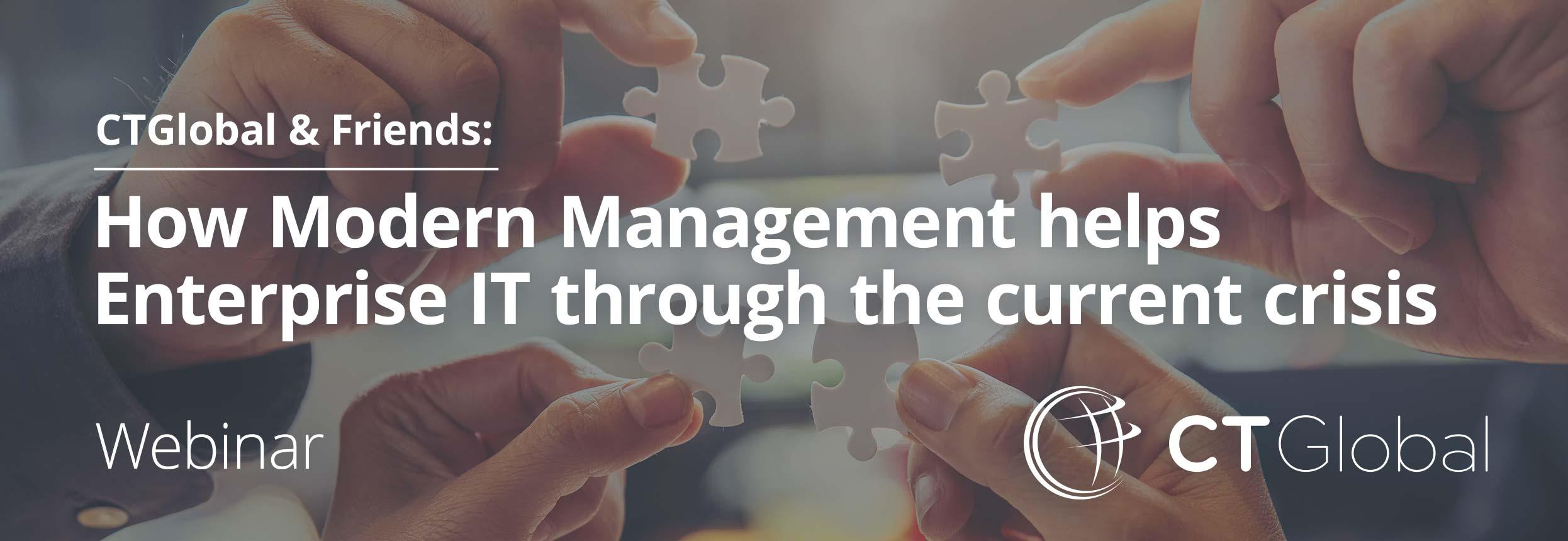 Modern Management webinar