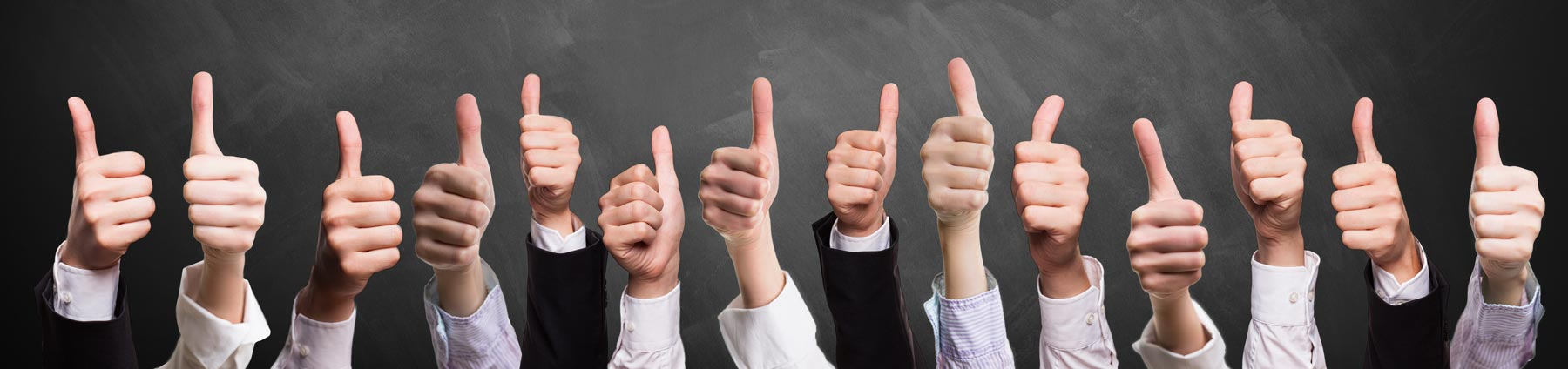 Thumbs up new hire