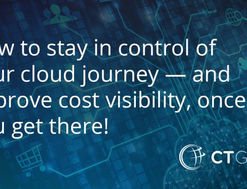 How to stay in control of your cloud journey